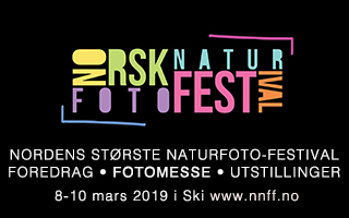 Norsk Naturfotofestival 2019